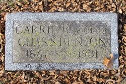 Carrie B. Benton