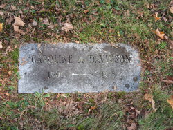 Caroline A <i>Erikson</i> Davidson