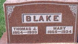 Mary <i>Overfield</i> Blake