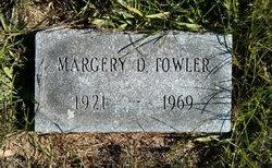 Margery D. Towler