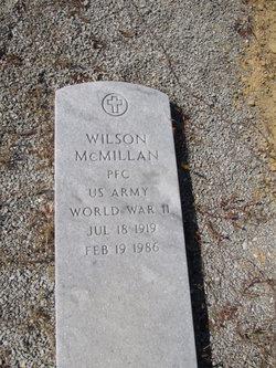 Wilson McMillan