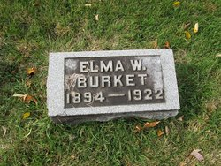 Elma <i>Williams</i> Burket