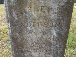 Ensley Benton Anderson
