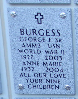 Anne Marie Burgess