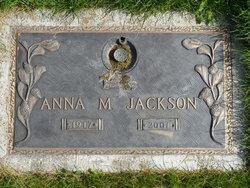 Anna M Jackson
