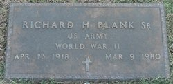 Richard H. Blank, Sr