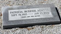 Patricia Pat <i>McBride</i> Newton