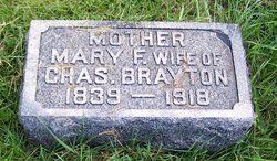 Mary F <i>Pierce</i> Brayton