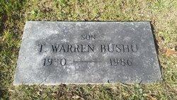Thomas Warren Bushu