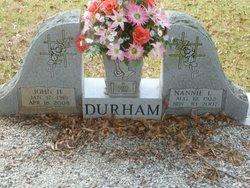 Nannie Lee <i>Young</i> Durham