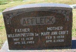 Mary Ann <i>Croft</i> Affleck