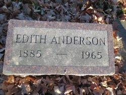 Edith <i>Blane</i> Anderson