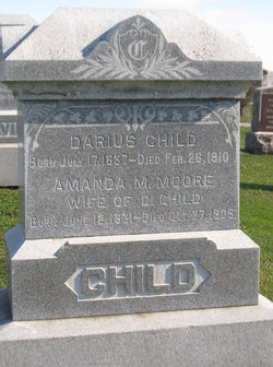 Amanda Melvina <i>Moore</i> Child