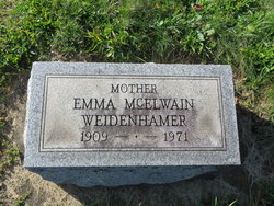 Emma <i>McElwain</i> Weidenhamer