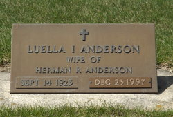 Luella Ileen <i>Lee</i> Anderson