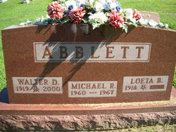 Loeta <i>Betz</i> Abblett