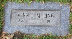 Minnie M <i>Zentz</i> Ling