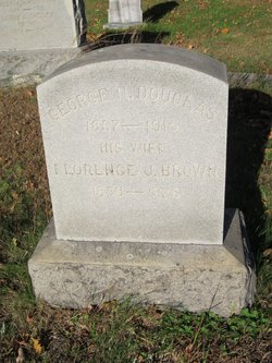 Florence J <i>Brown</i> Douglas