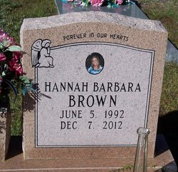 Hannah Barbara Brown