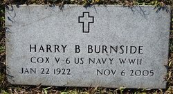 Harry b Burnside
