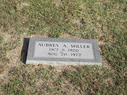 Aubrey Arvil Miller