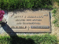 Betty Jane <i>Hicks</i> Albarado