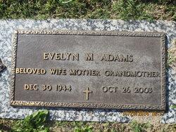 Evelyn Marie <i>Jones</i> Adams