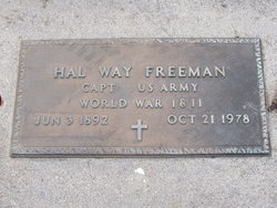 Hal Way Freeman