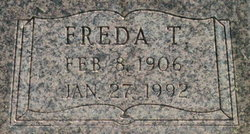Freda Thompson <i>Rogers</i> Bowman