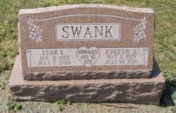 Evelyn June <i>Hill</i> Swank