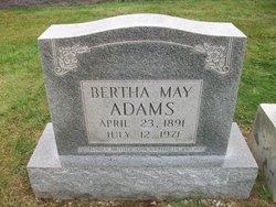 Bertha May <i>Bastin</i> Adams