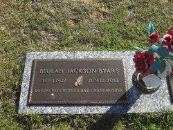 Beulah <i>Jackson</i> Byars