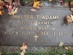 Walter T Adams