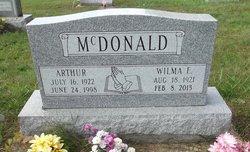 Wilma Evelyn <i>King</i> Mcdonald