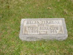 Helen <i>Terhune</i> Burkalew