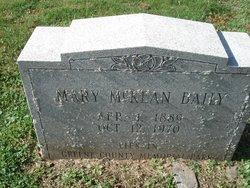Mary <i>McKean</i> Baily
