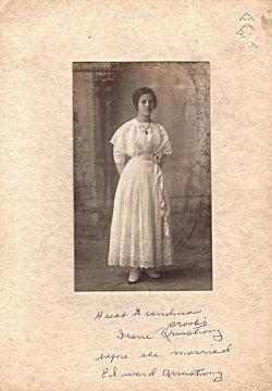 Bertha Irene <i>Brooks</i> Armstrong