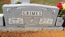 Tommie Ancil Grimes