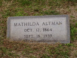 Matilda Altman