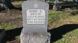 Hulda Suzanna Susie <i>Blanton</i> Felker