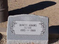 Dewitt D.W. Adams
