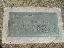 Nellie <i>Knaur</i> Coe