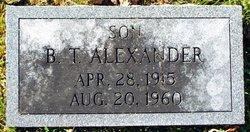 Benjamin T. Alexander
