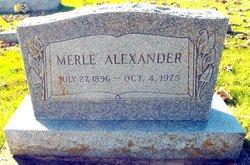 Merle Alexander