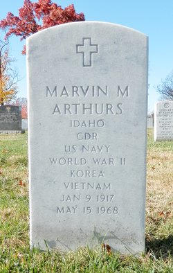 CDR Marvin Michael Arthurs