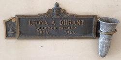 Leona <i>Reeves</i> Durant