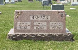 Karine <i>Andreasdatter Vang</i> Hanson