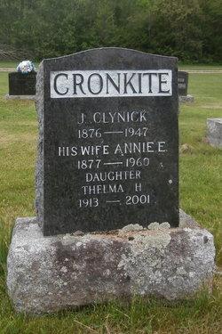 Annie E. <i>Sharpe</i> Cronkite