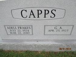 Adell <i>Frakes</i> Capps