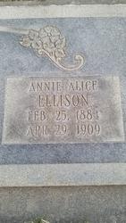 Annie Alice <i>Ellison</i> Rich